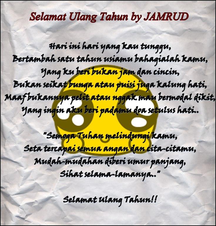 Jamrud Selamat Ulang Tahun Lyrics